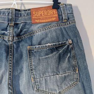 Superdry Black Label Distressed Jeans